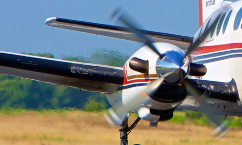 Fastest Plane in the Biz: The King Air