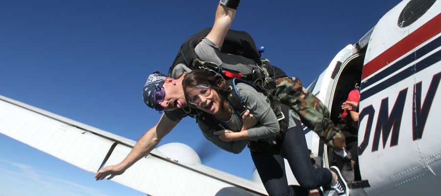 Kansas City Skydiving Gift Certificates